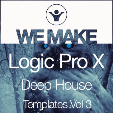 We Make Logic Pro X Deep House Template Vol 3