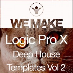 We Make Logic Pro X Deep House Templates Vol 2